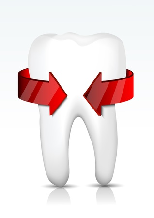 decayed: Vector tooth protection