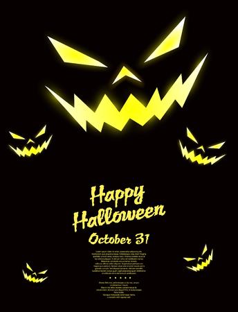 prank: Halloween pumpkin background
