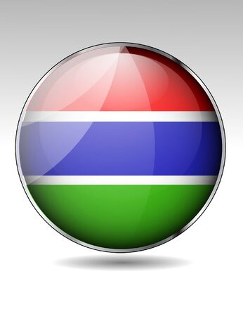 gambia: Gambia flag button