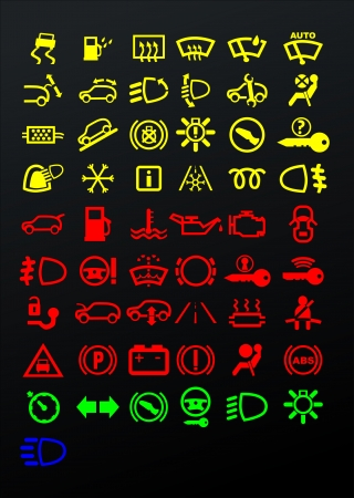 coolant: Dashboard icons