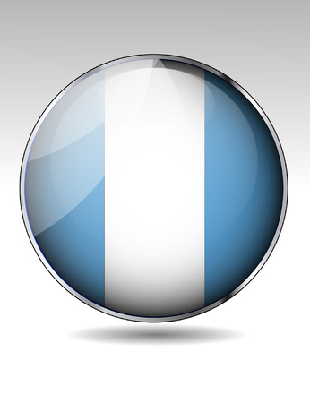 guatemala: Guatemala flag button