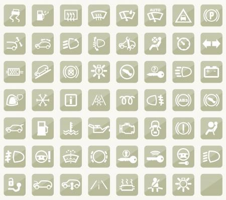 предупреждать: Dashboard иконки Иллюстрация