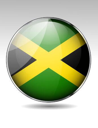 jamaica: Jamaica flag button