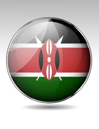 creativy: Kenya flag button