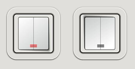 push room: Light switch