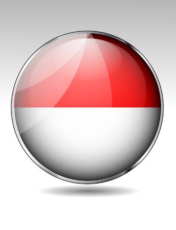 monaco: Monaco flag button