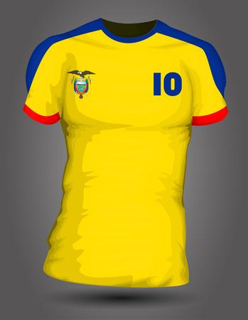ecuador: Ecuador voetbal jersey