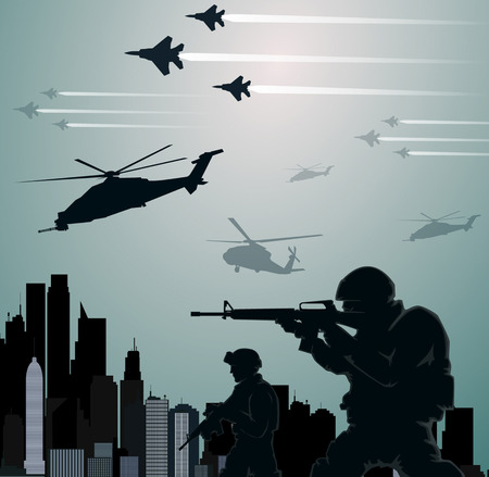 invasion: Invasion militaire Illustration