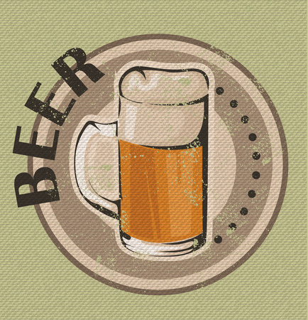 Vintage Beer Design Vector