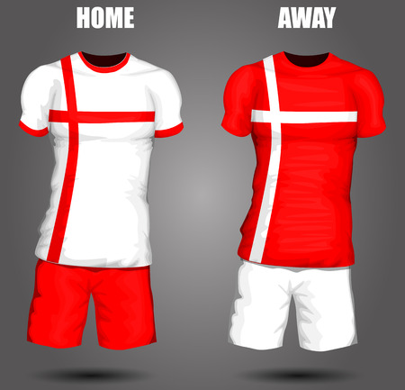 jersey: England soccer jersey