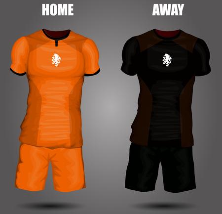 jersey: Netherlands soccer jersey Illustration