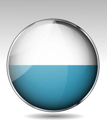 San Marino flag button Vector