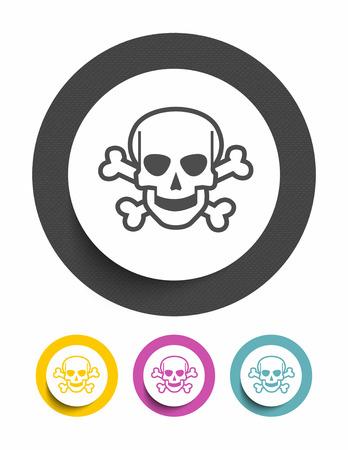 electroshock: Danger sign icon