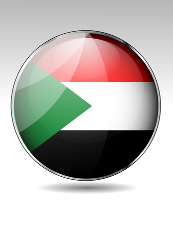 sudan: Sudan flag button