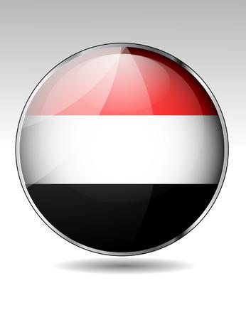yemen: Yemen flag button