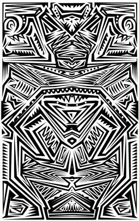 Tribal Tatoo Vettoriali