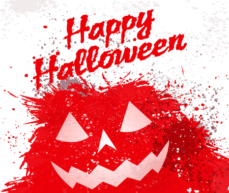 prank: Grunge Halloween pumpkin background