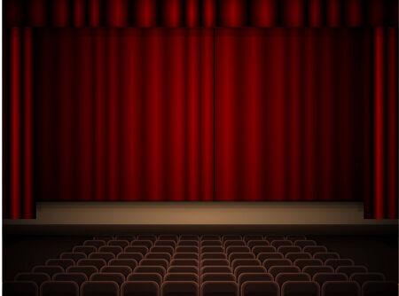 comedic: Theater interior
