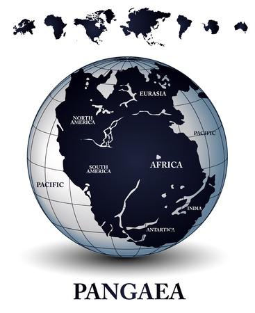 gondwana: Pangaea Illustration