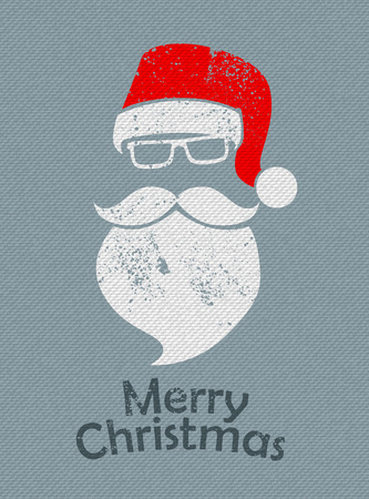 Christmas Santa background Illustration