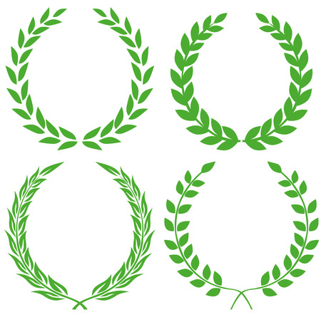 decorations wreaths: Laurel wreath