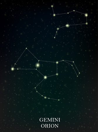 orion: Gemini and Orion constellation