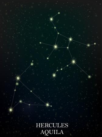 constelacion: H�rcules y Aquila constelaci�n