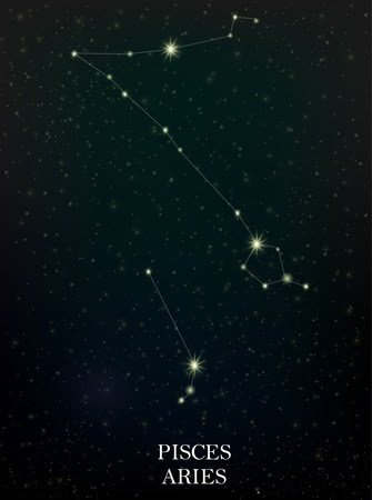 pisces: Pisces and Aries constellation