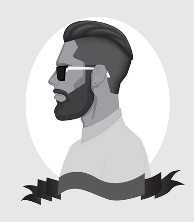 trendy: Trendy Hipster Men