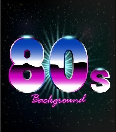 80s: 80s Retro Background