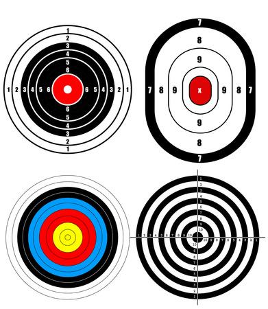 shooting target: Shooting target