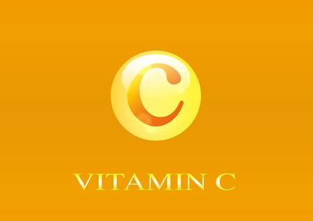 Vitamine C-pictogram.