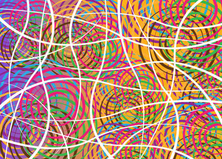 African Print fabric, Ethnic handmade colorful ornament for your design, Ethnic and tribal motifs geometric elements. Vector texture, afro textile Ankara fashion style. Pareo wrap dress, batik style Ilustração