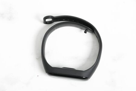 connected watch for smart phone shut down on white background. 版權商用圖片 - 147137322
