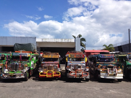 Jeepney in Philippine