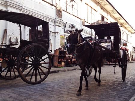 philippine: Carriage in Vigan, Philippine.