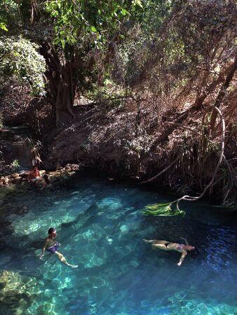 katherine: Katherine hot springs, australia