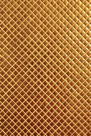 grid: Golden mosaic Stock Photo