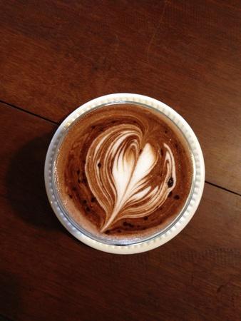 art: Latte coffee art