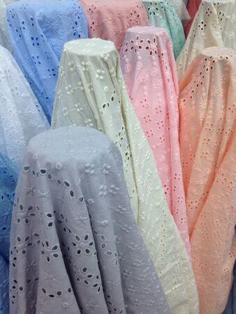 soft sell: Pastel fabric
