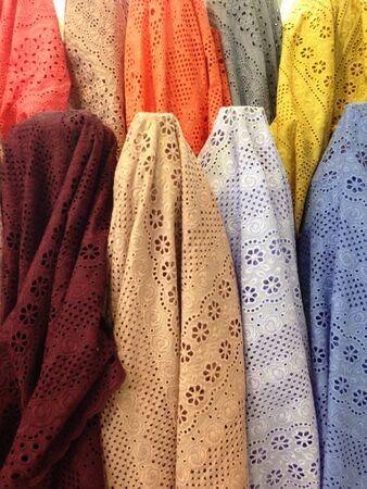 cotton: Pastel fabric