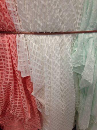 Lace fabric Stock Photo