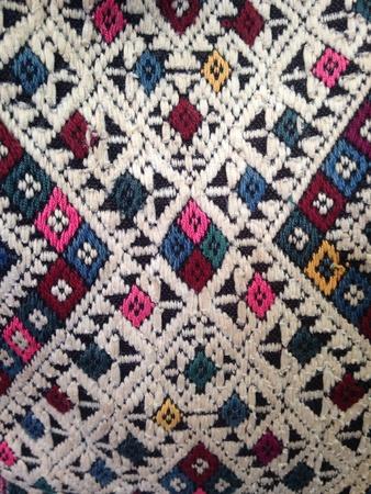 stitch: Native ornament fabric