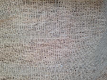 cotton: Sack fabric