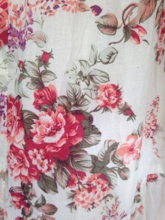 öltés: Rose nyomtatási minta Stock fotó