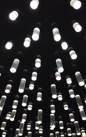 design: Acrylic tube lighting ceiling design