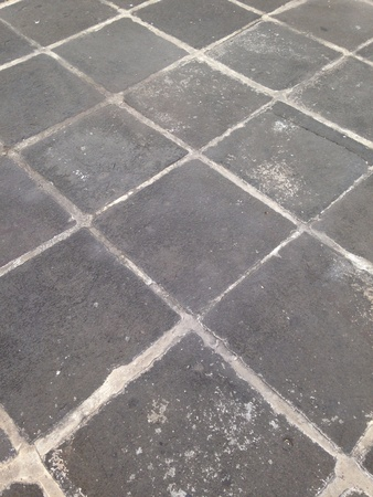 tile: Stone paving floor Stock Photo