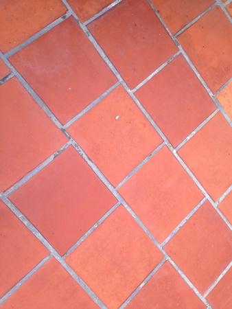 tile: Brick paving floor Stock Photo