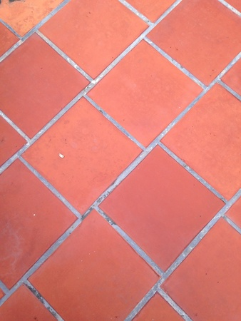 paving: Brick paving floor Stock Photo