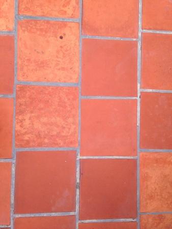 Brick paving floor Stock Photo